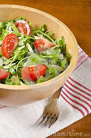 Bowl of Arugula Salad #2