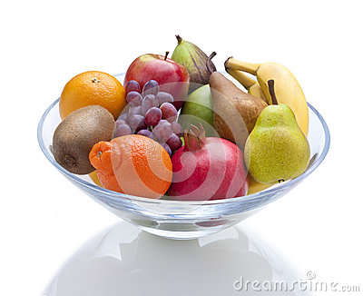Bowl Fresh Fruit Food