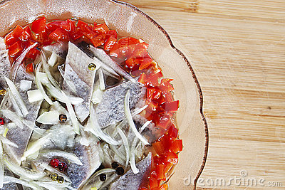 Bowl of herring