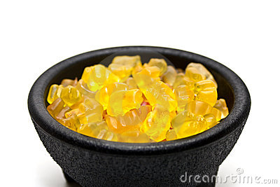 Bowl of jelly sweets Editorial Photography