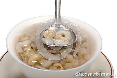 Lotus nuts sweet soup,