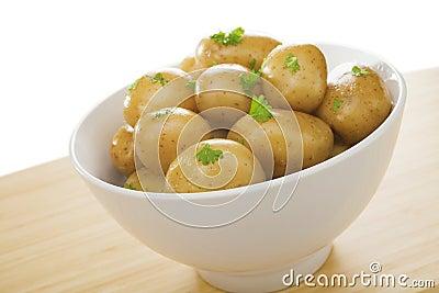 Bowl of New Potatoes