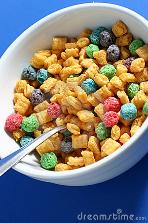 Free Bowl Of Cereal Royalty Free Stock Photography - 1800587