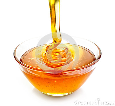 Free Bowl Of Honey Stock Photos - 56910073