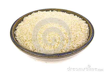 Bowl of panko flaked bread crumbs