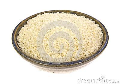 Bowl of panko flaked bread crumbs