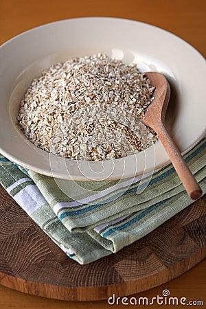 Bowl of porridge oats
