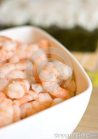 Bowl of Shrimps