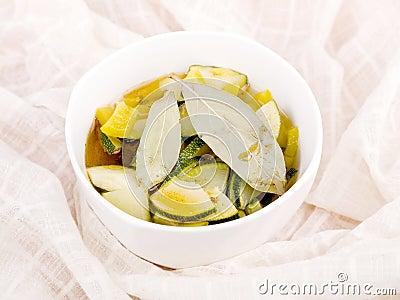 Bowl of vegetarian soup