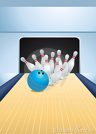 Free Bowling Royalty Free Stock Photo - 18221155