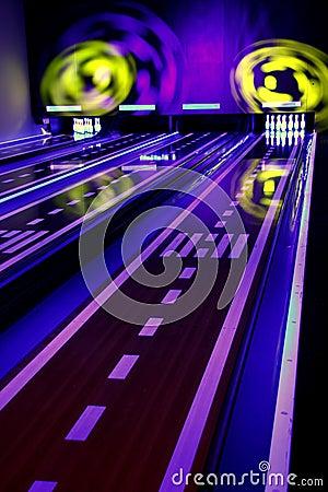 Bowling colorido