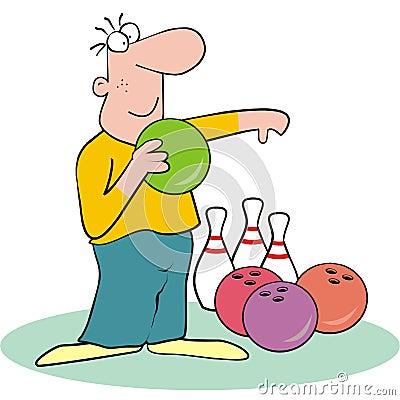 Bowling - man