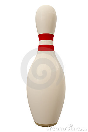 Free Bowling Pin Royalty Free Stock Photography - 2702957