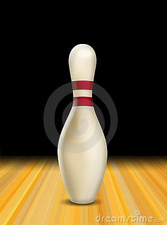 Bowling skittle