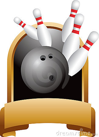 Bowling strike trophy