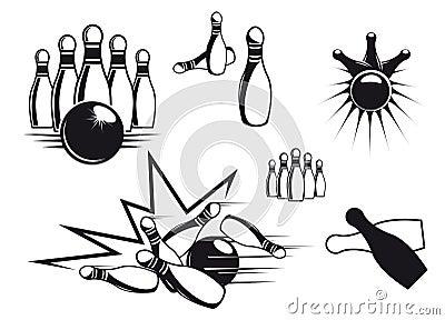Bowling symbols