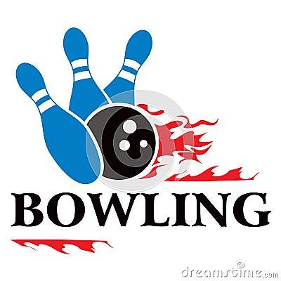 Bowlingspielsymbol