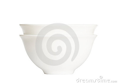 Bowls isolated