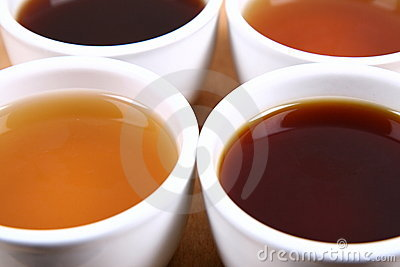 Bowls of tea