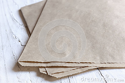 Bown Paper Bag Background