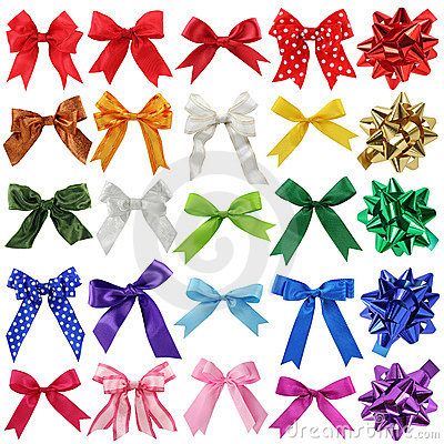 Free Bows Collection Stock Photography - 10357772