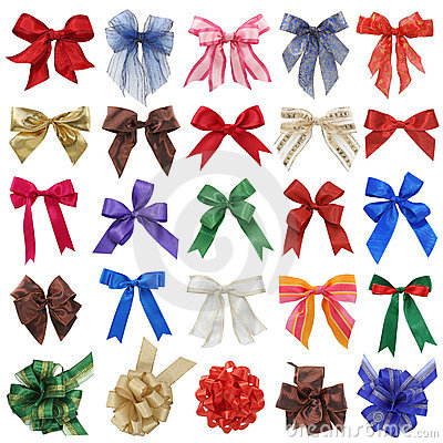 Free Bows Collection Stock Images - 6446404