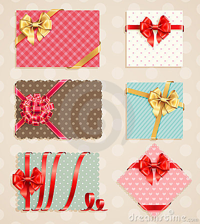 Free Bows Collection With Vintage Stock Images - 23479324