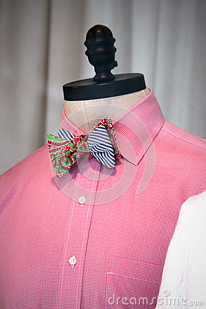 Bowtie on a mannequin