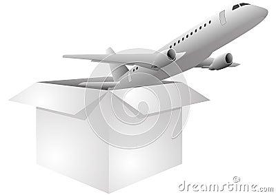 Box airplane