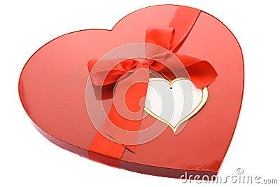 Box as a heart