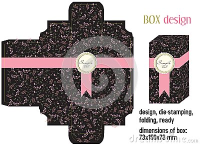 Box design romantic