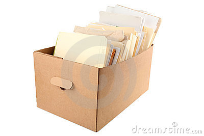 A box of document