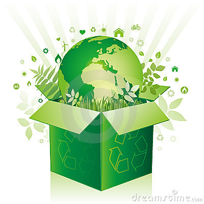 box and environment icon