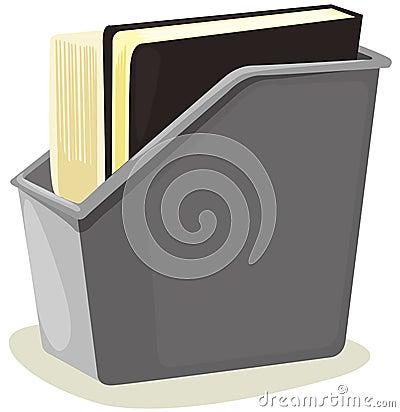Box of files