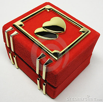 Free Box For Ring Royalty Free Stock Photos - 8908628