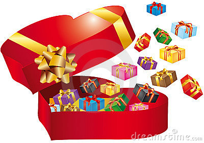 Box with gift