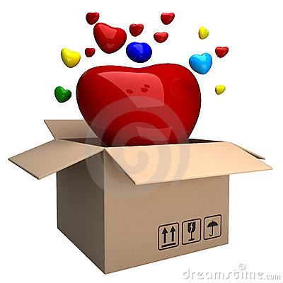 Box of heart