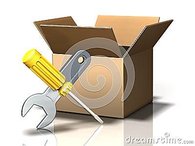 Box Icon: Tools
