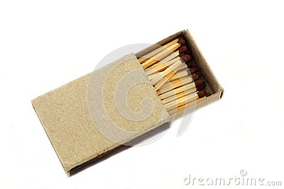 Box with matches