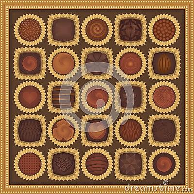 Free Box Of Chocolates Stock Images - 11408074