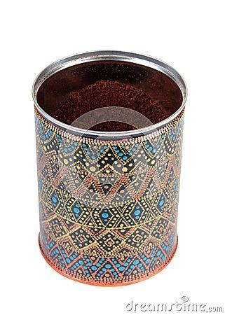 Free Box Of Coffee Royalty Free Stock Image - 61302796