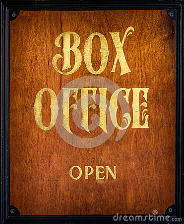 Free Box Office Sign Royalty Free Stock Photography - 72977317