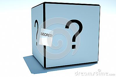 Box with a secret