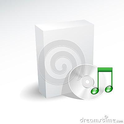 Box and sound cd , dvd