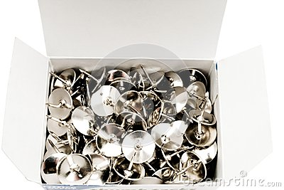 Box of thumbtacks
