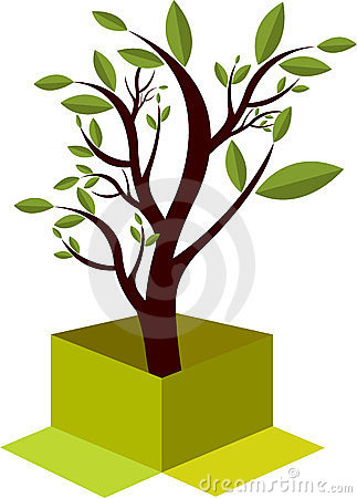 Box tree logo