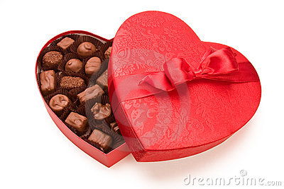A box of Valentine s chocolate