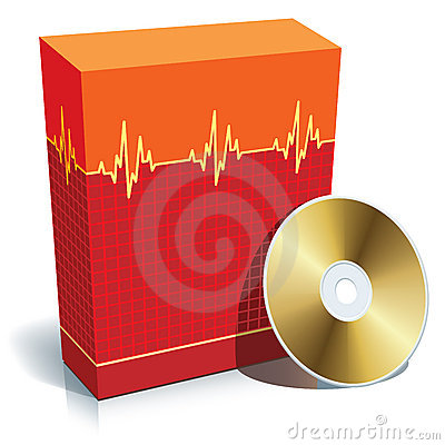 Free Box With Medical Software Stock Photo - 5846840