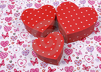 Boxed Hearts
