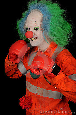 Boxer Clown